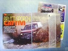 AUTO998-RITAGLIO/CLIPPING/NEWS-1998-CHEVROLET RTZ K1500 SPORTSIDE - 3 fogli