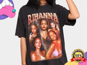 Rihanna Shirt , Rihanna - Badgal, Vintage 90's Hip Hop Rap Tour T-Shirt
