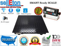 Selleton Ntep Heavy Duty Floor Scale industrial warehouse 10,000 X 2 Lb 2'x2'