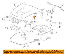 Chevrolet GM OEM 14-16 Corvette Hood-Lock Latch Striker 23491557