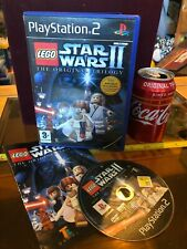 LEGO STAR WARS THE ORIGINAL TRILOGY PS2 Playstation 2 Video Game