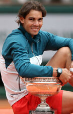 Rafael Nadal ‏ 10x 8 UNSIGNED photo - P347 - Grand Slam Tennis Champion