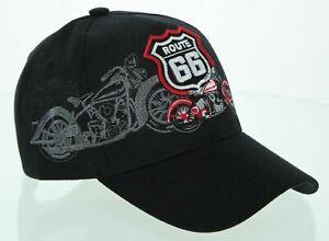 Casquette Biker US Motard Chopper Moto Route 66 USA !