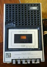 Marantz Superscope C-104 Four Way Power Cassette with phone tap as is see descri