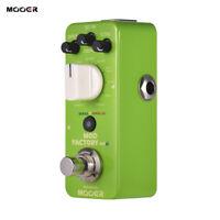 MOOER MOD FACTORY MKII Multi Modulation Guitar Effect Pedal 11 Modulation Effect