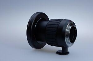 Lens Adapter: Mamiya RB67 to Nikon F