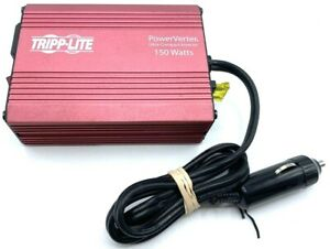 Tripp Lite PowerVerter 150-Watt Ultra-Compact Inverter 12V DC PV150 - WARRANTY!!