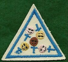 VINTAGE GIRL SCOUT - BROWNIE GIRL SCOUT TRY-ITS - BLUE  - HER STORY