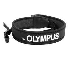 Camera Black Neoprene Neck strap for Olympus E520 E510 E420 E410 E3