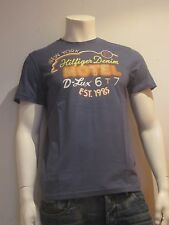 Tommy Hilfiger Denim Fabio Tee talla S camiseta hombre estampada azul