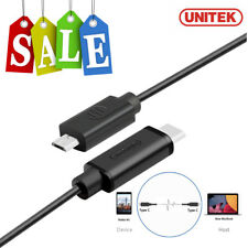 Unitek Hi-Speed Type C (USB-C) to Micro USB Sync Charge Cable Cord Adapter