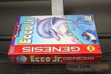 Ecco Jr. (Sega Genesis, 1995) FACTORY SEALED! - RARE!