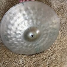 "Beautiful hammered Old 14"" Zildjian? Constantinople Cymbal vintage"
