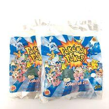 2000 BURGER KING POKEMON POWER FAST FOOD TOYS
