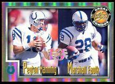 1999 Score #272 Artist Proof Peyton MANNING Marshall FAULK 6/10 Anniuversary HOF
