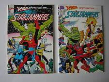 Marvel Comics: X-Men Spotlight On... Starjammers. Complete Set of Issues #1 & #2