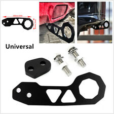 Black Racing Car SUV Billet Aluminum Rear Tow Hook Fits For Civic Crx Rsx JDM 1x