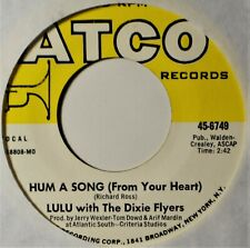"""Lulu Hum a Song From Your Heart British Teen 45 7"""" Vinyl  Extra 45's Ship Free B"""