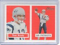 2002 Topps Heritage Black Backs #50 Tom Brady - Flat S/H