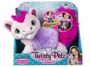 Pink Unicorn - Twisty Petz - Cuddlez - Wearable & Huggable - EsmeLilly