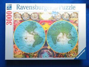 RAVENSBURGER ORIGINAL THE GLOBE 3000 PIECE ZIGSAW PUZZLE  2017  NEW SEALED