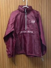 Texas A&M Aggies atm Men's  Embroider long Sleeve Pullover Jacket Red Oak Medium