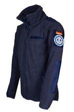 Fleecejacke Größe XL blau Outdoor Jacke Neu Survival Wanderjacke Bundeswehr THW
