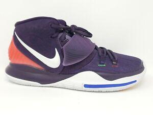 Nike Men's Kyrie 6 Grand Purple Enlightenment Basketball Shoes Size 9 bq4630-500