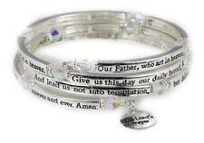 4030561 The Lord's Prayer Christian Stretch Bracelet Jesus Religious Christ