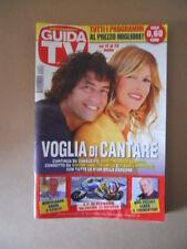 GUIDA TV n°28  2013 [G764] ALESSIA MARCUZZI