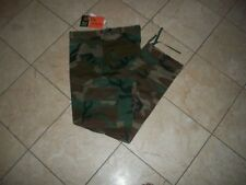 Woodland Camo MENS  BDU Cargo Pants Mens Military Camouflage Pants SIZE 36X32