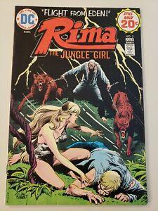 Rima the Jungle Girl #2. DC. July 1974 High Grade VF+ or UP!  Joe Kubert cvr