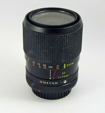 Deitz 38-70mm F3.5 with Canon FD Mount
