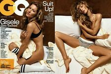 GQ Magazine Gisele Bundchen July 2008 New Sealed in Original Bag Never Opened