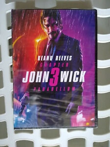 John Wick: Chapter 3 DVD Brand New Keanu Reeves 2019
