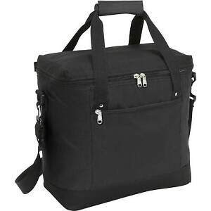 Picnic Time Montero 20 Beer Soda Black Tote Bag Insulated Cooler Tailgate 12x12