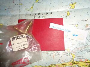 GARCIA MITCHELL 600A 620 GEAR WITH MAIN SHAFT NEW NOS  PART 82128 FACTORY SEALED