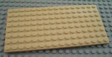 New LEGO Tan 8x16 Flat Building Plate Piece from 79109 7346 4644