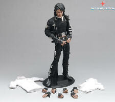 """STAR TOYS 1/6 """"BAD"""" MJ Michael Jackson Action Figure Full Sets W Movable Eyes"""