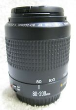 Canon  80-200mm  EF   Zoom  Lens  (Mark 2 ) Excellent Condition