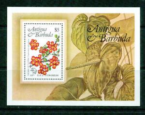 ANTIGUA   - 1984  – FLOWER S/S – VF  **
