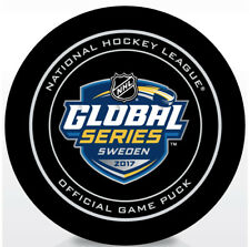 2017 SAP NHL Global Series Official Game Puck Colorado Avalanche vs Ottawa