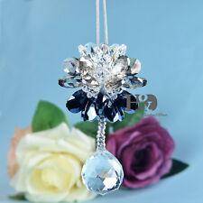 Clear Crystal Ball Suncatcher Prisms Pendant Home Decor Hanging Drop Feng Shui