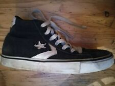 Converse All Stars Suede Sneakers Trainers Hi-Tops Black Size UK 4