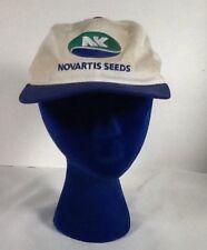 St1405 Novartis Seeds White SnapBack Hat