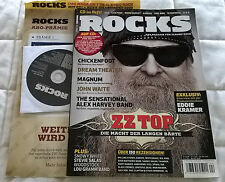 Rocks Classic Rock Magazine + Free CD - Issue 11 April 2009 - German - ZZ Top