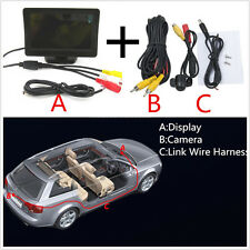 Car SUV 170 Degree Rear CCD Reversing Camera & 4.3 Inch Rear View Display Screen