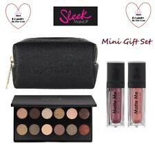 SLEEK Mini Collection Gift Set Shadow Palette 2x Matte Lipstick & Bag