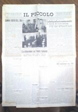 WW2 -INSEDIAMENTO DEL PREFETTO DI TRIESTE /27-10-1940  N.1503