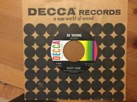"""Patsy Cline: """"So Wrong""""/ """"You're Stronger Than Me"""" 45 DECCA..Beauty of a copy NM"""